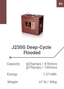 J250G Deep-Cycle Flooded