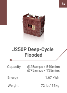 J250P Deep-Cycle Flooded