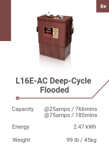 L16E-AC Deep-Cycle Flooded
