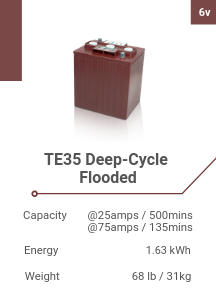 TE35 Deep-Cycle Flooded