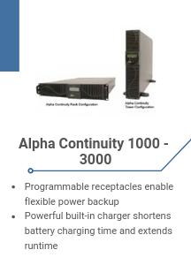 Alpha Continuity 1000 - 3000