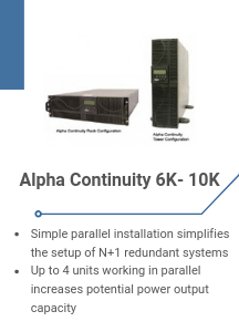 Alpha Continuity 6K- 10K