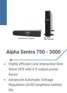 Alpha Sentra 750 - 3000