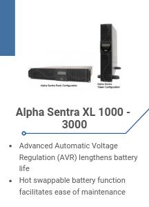 Alpha Sentra XL 1000 - 3000